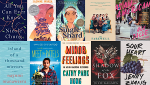 Titles from Asian American and Pacific Islander authors