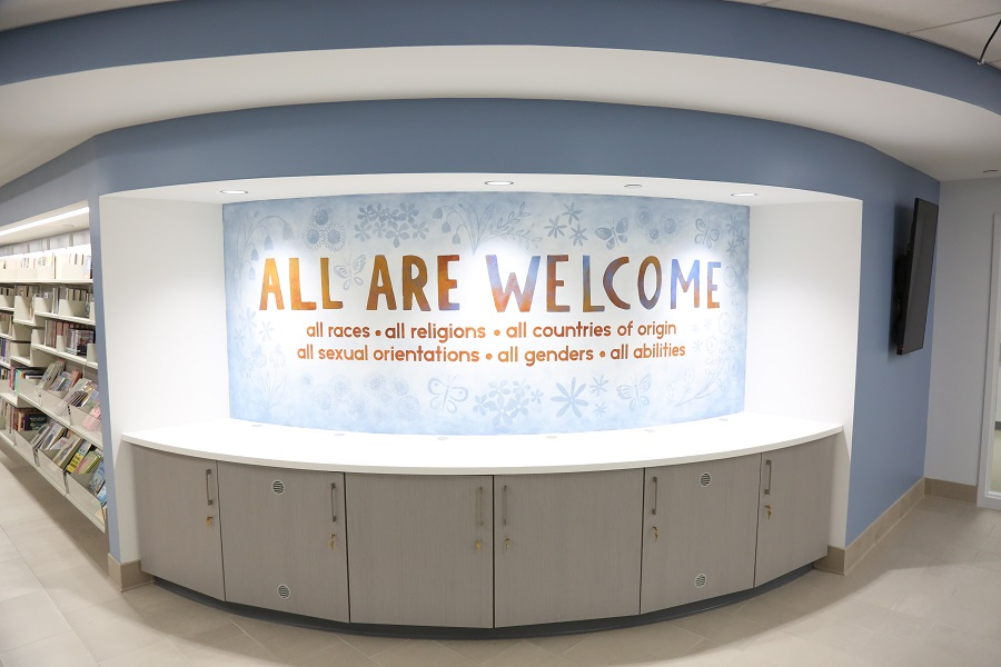 All Are Welcome Mural