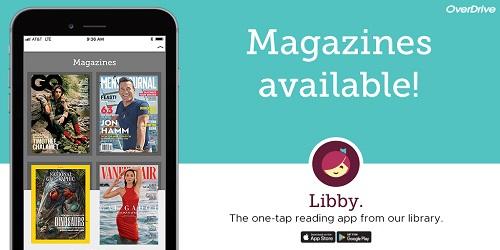 Image showing digital magazines