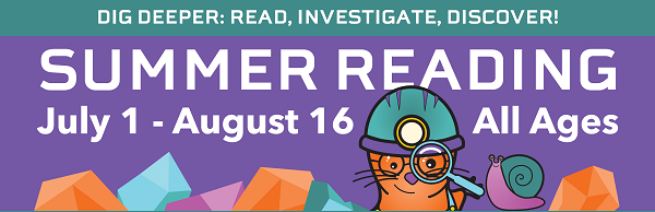Summer Reading: Read Investigate Discover