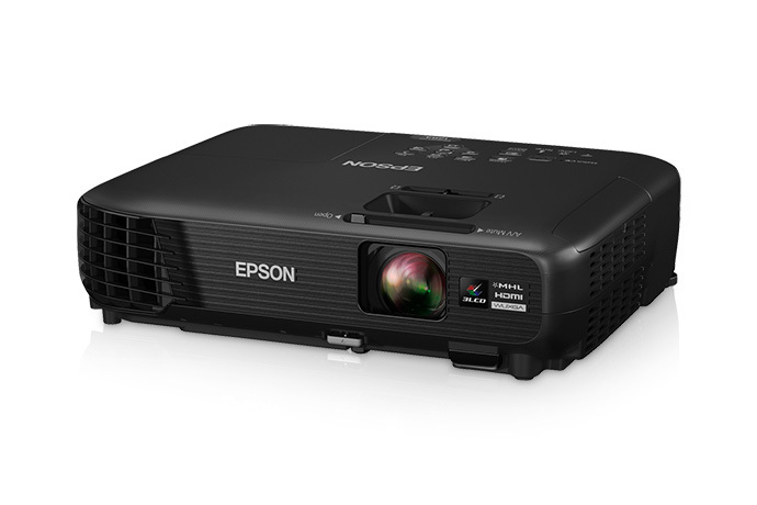 Image of the Epson projector