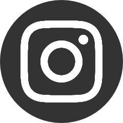 Instagram logo in circle