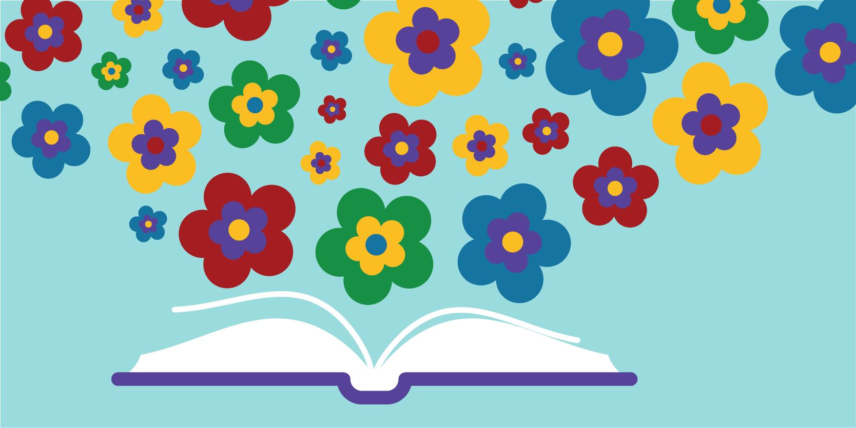 Spring Read & Share Logo