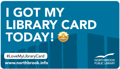 I got my library card today