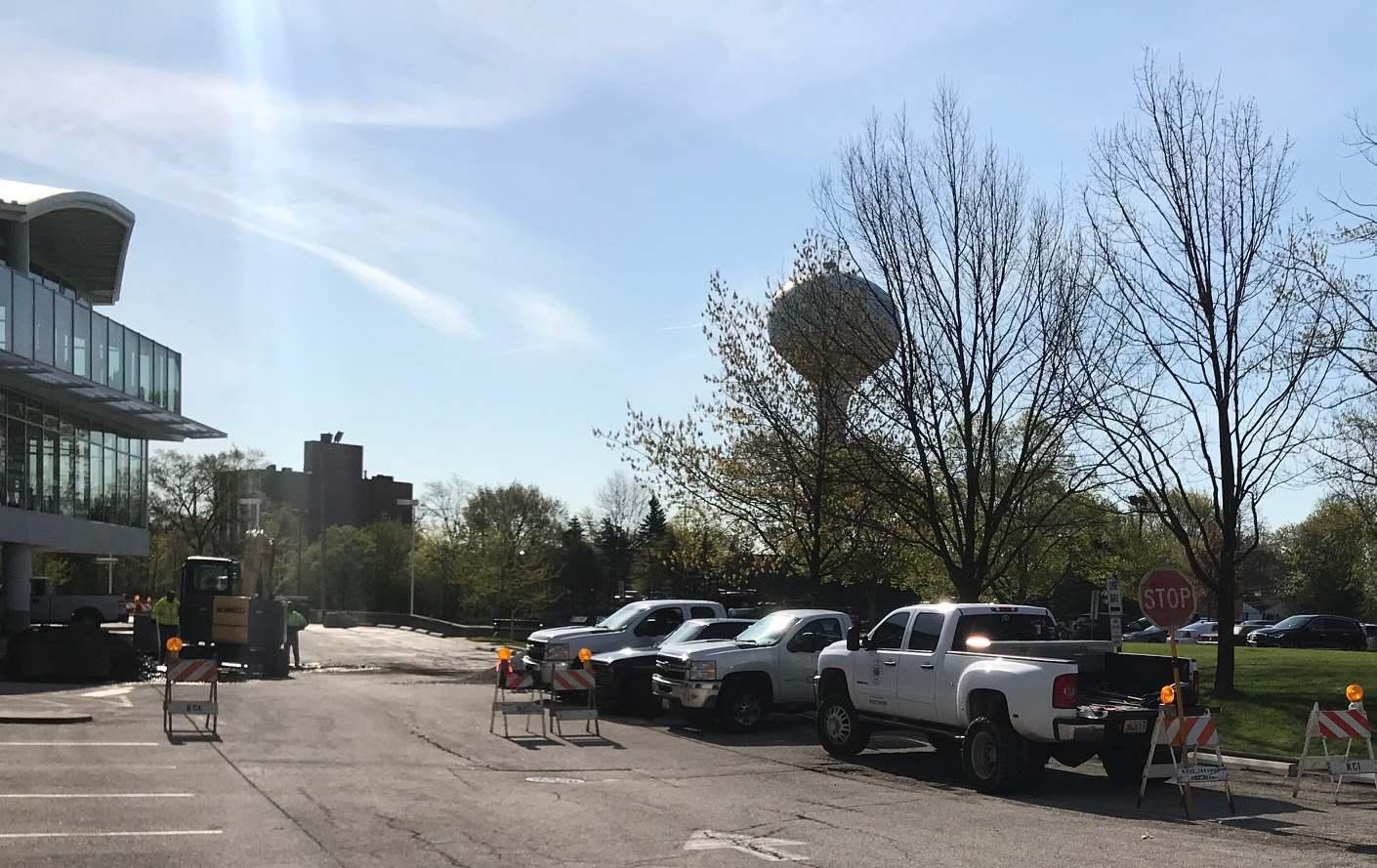 Parking Lot Repaving